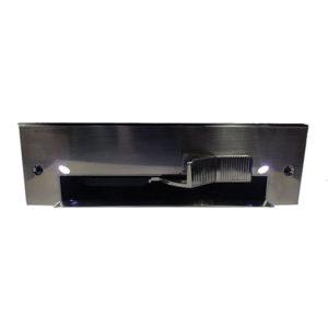Porte-poussière automatique Vac-N-Clean avec DEL - fini métallique