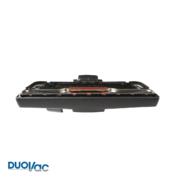 Brosse à plancher tapis de luxe sans sabot métale Duovac noir DUOVAC - ACC-1005-DV