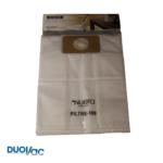 Paquet de 3 sacs de filtration 12 Litre en polypropylène DUOVAC - FILTRE-189-DV