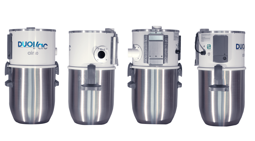 DUOVAC Air 10 - aspirateur centralisé