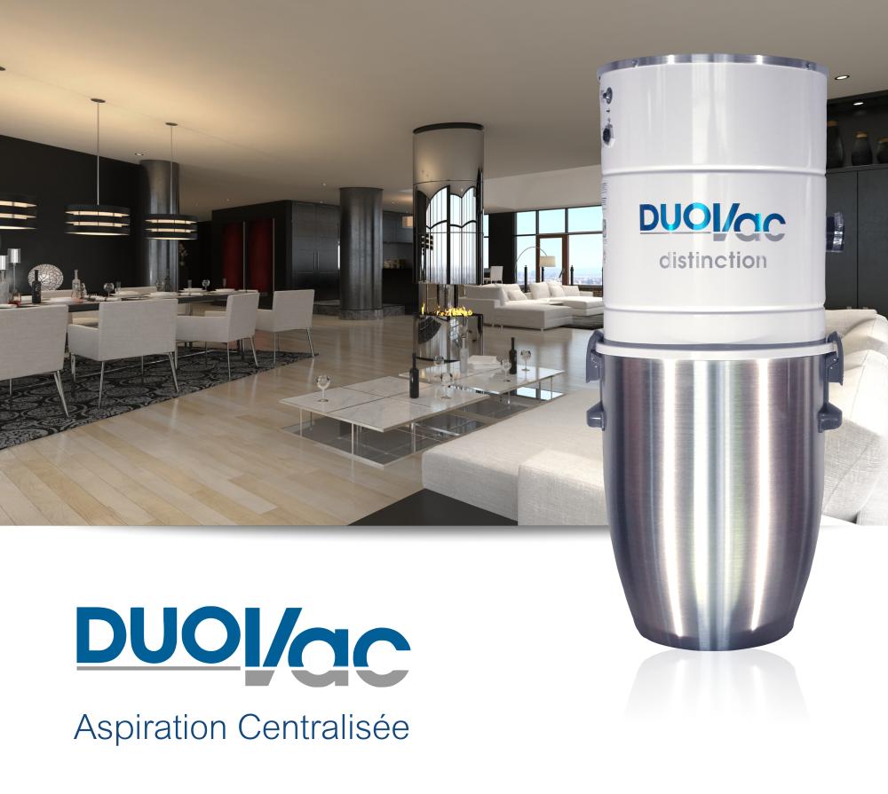 DUOVAC Distinction - aspirateur centralisé