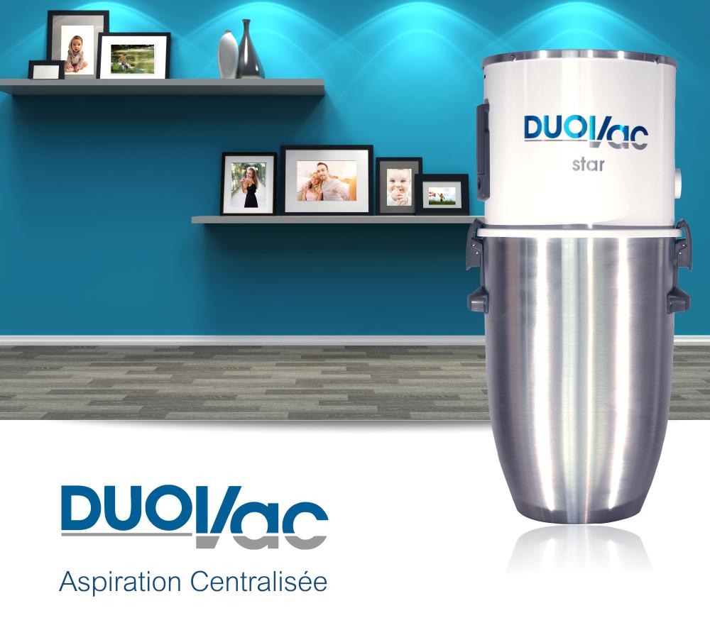 DUOVAC Star - aspirateur centralisé