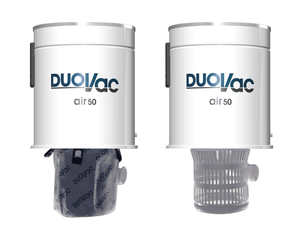 DUOVAC Air 50 - aspirateur centralisé